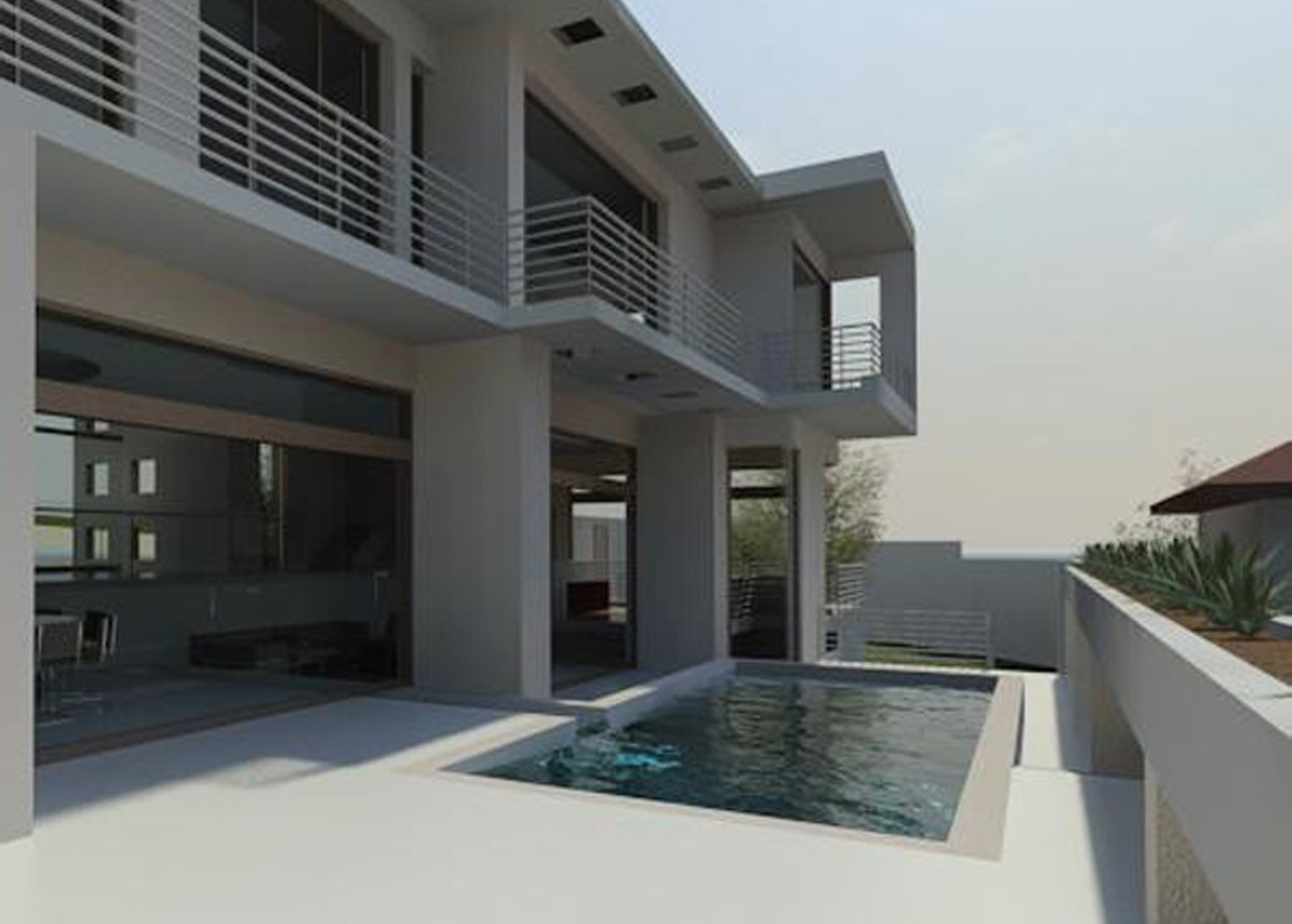 Kyalami (house design) pool design, by Essar design