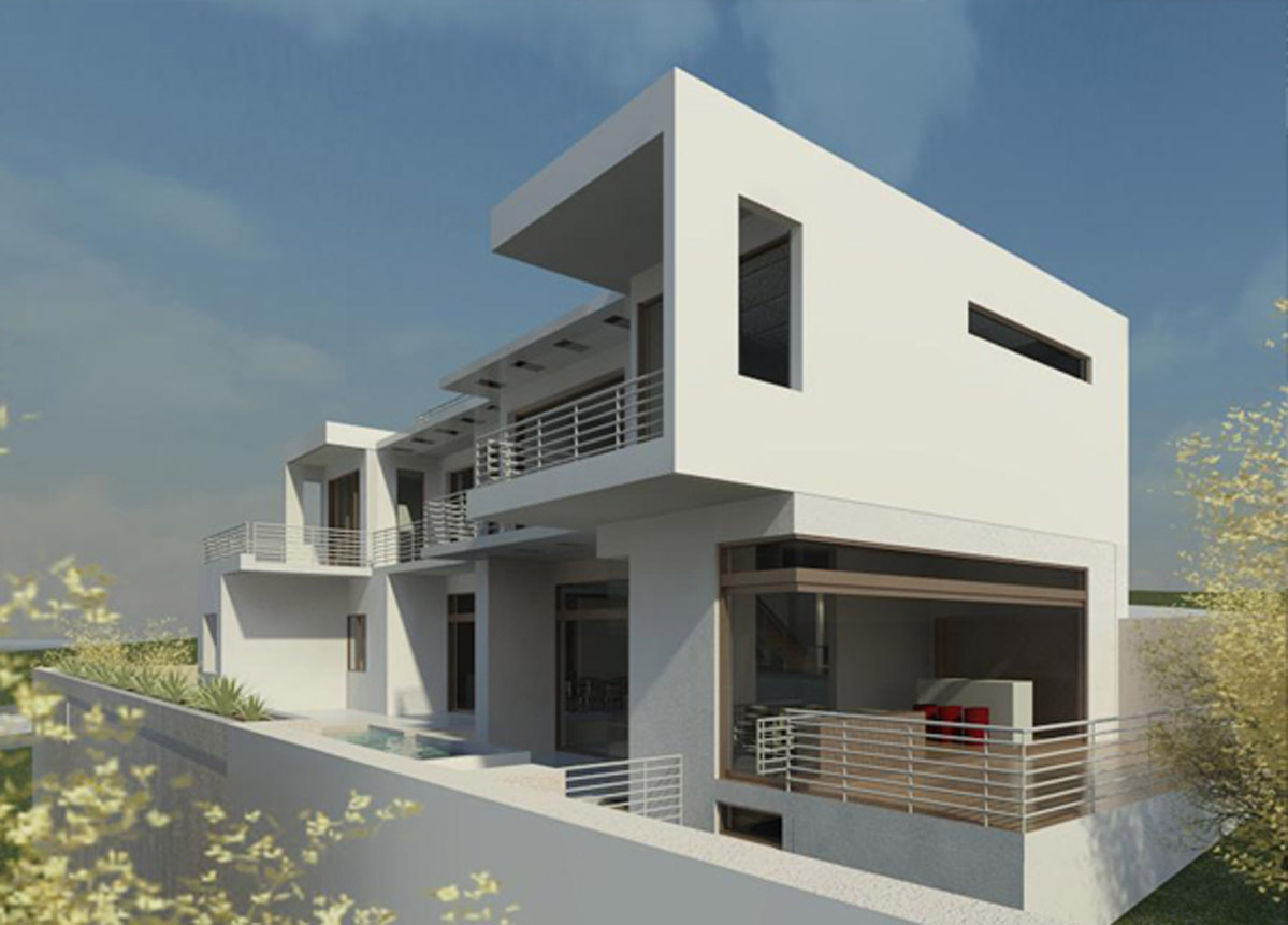 Kyalami (house design) side perspective, by Essar design